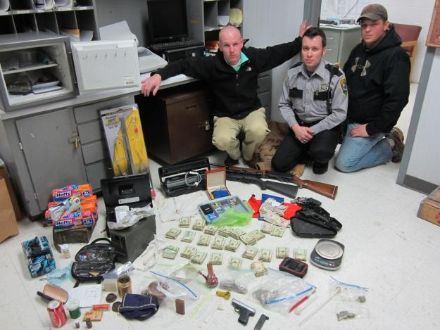 UPDATE: Parchcorn man faces drug charges