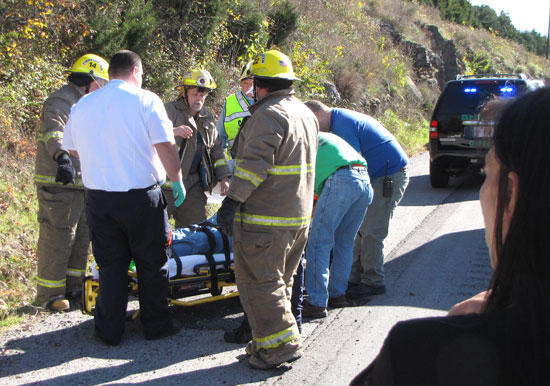 Accident Victim Lifeflighted To Vanderbilt Hospital