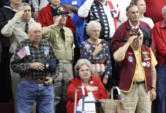 Veterans Honored At CCHS Ceremony
