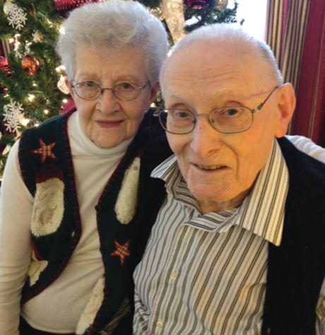 Sweethearts celebrate 70th anniversary