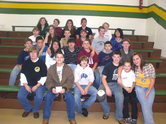 Short Mountain 8th Grade Awarded For Good Behavior