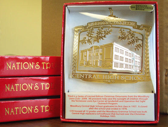 Central High School Becomes Third Ornament In Collection
