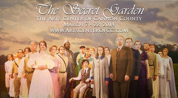 'The Secret Garden' to open at Arts Center