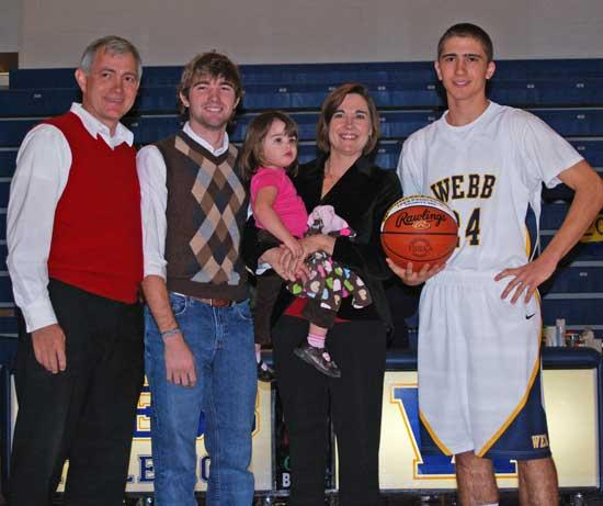 Webb Senior From Liberty Hits 1,000