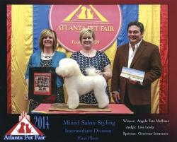 Groomer takes top honors