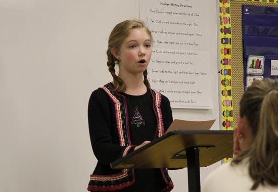 Young Tongues Do Battle In County Public Speaking Contest