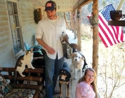 For love of dogs ... couple saves canines