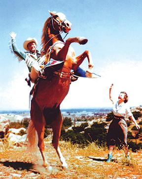 Roy Roger's famous horse...Trigger Jr.