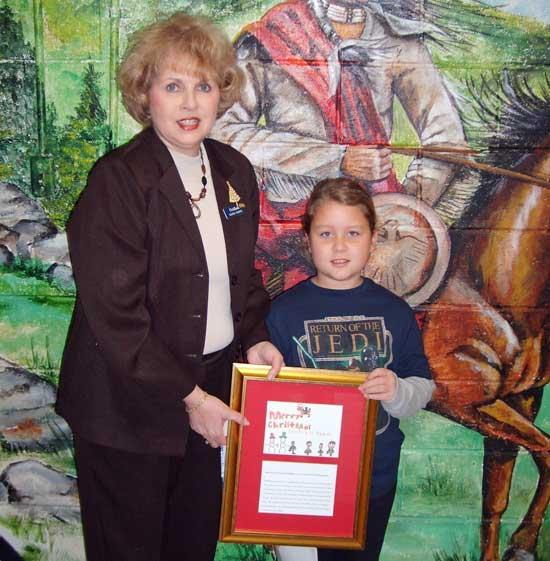 FirstBank Announces Winner In Holiday Art Contest
