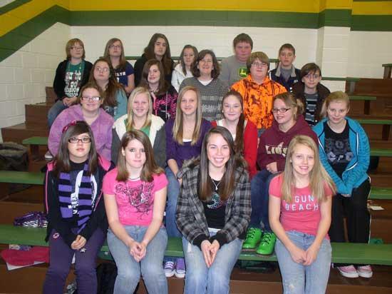 McMurry's Class at SMS Wins Behavior Award