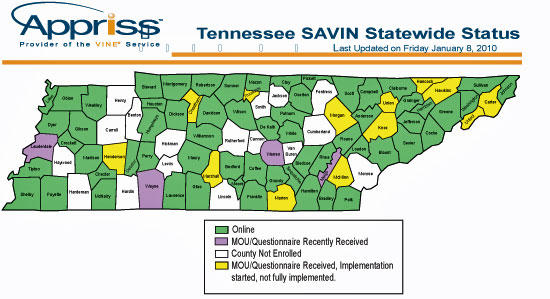 Sheriff Nichols Considers SAVIN Cannon County