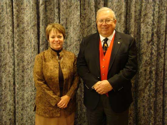 Bailey Receives 10-Year Service Pin