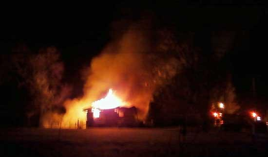 Pictures Illustrate Extent Of Fire On Finny Simmons