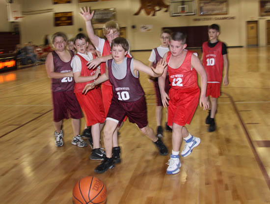 Four Close Encounters Close Cannon Youth Basketball Tournament
