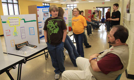 County-Wide Science Fair Held At CCHS