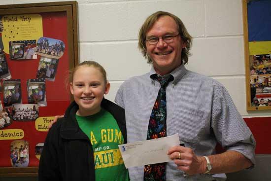 Mr. Mac Honored As 'My Favorite Teacher'