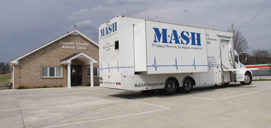 Animal M.A.S.H. Unit Rolls Into Cannon County