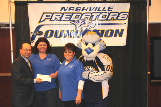 REACH Receives Grant From Predators Foundation