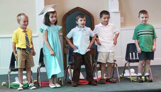Woodbury Day School Holds Graduation Program