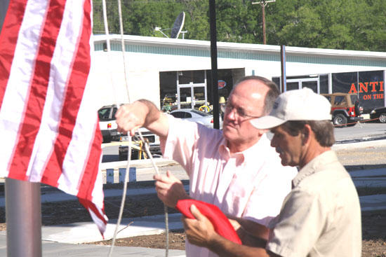 American Legion Adopts Courthouse Flag Pole