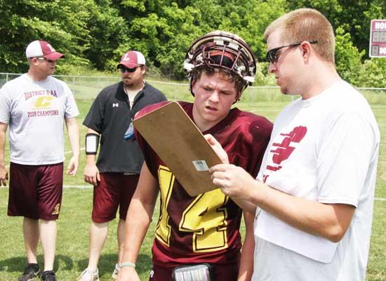 Young Lions Step Up During Spring Drills