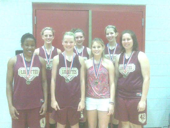 Cannon County 14U Girls Win Spring Fling