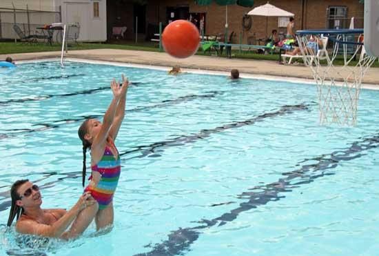 Community Center Pool Opens For Summer