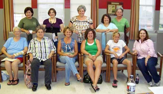 Members Of New American Legion 279 Auxiliary Unit Named