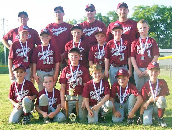 Crushers Place Second In Tournament