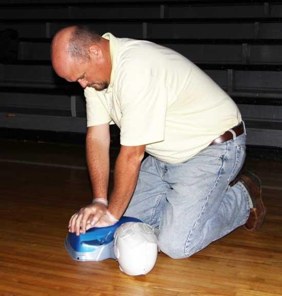 PHOTO GALLERY: West Side Staff Receives Red Cross Training
