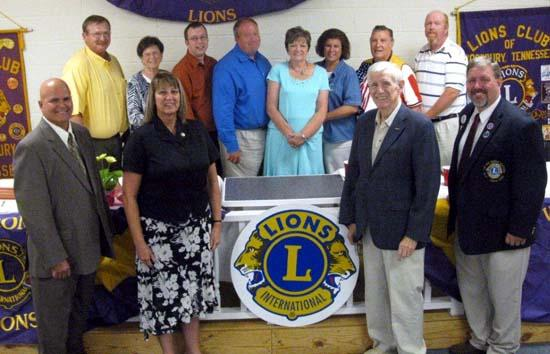 2010-2011 Woodbury Lions Club Officers Named