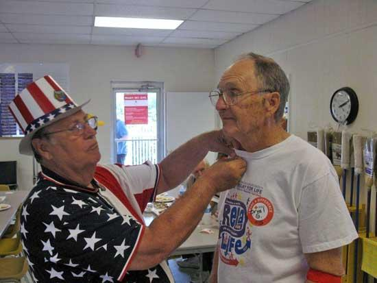 Woodbury Lions Club Dedicated To Red Cross