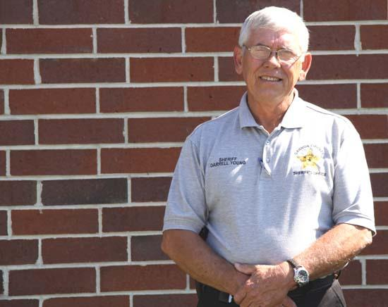 Feeling Young: New Sheriff Marks First Day On The Job
