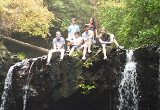 CCHS Outdoor Club Hikes Fiery Gizzard Trail