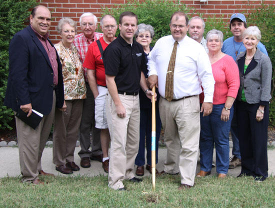 Groundbreaking Held For New Addition To First United Methodist Church