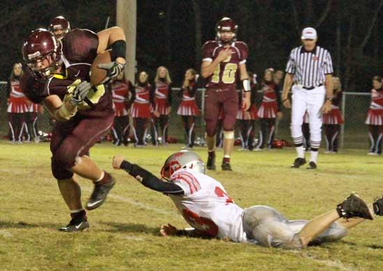 Lions Show Little Fight In Loss To Scott County