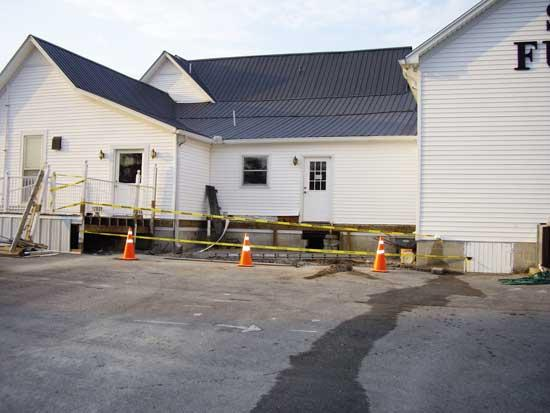 Work Begins On New Addition To Smith Funeral Home