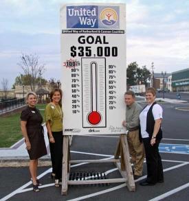 United Way's Goal: $35,000