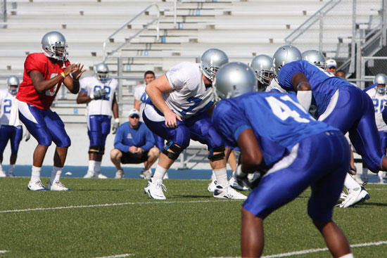 Dasher, Offense Shine In Final MT Scrimmage