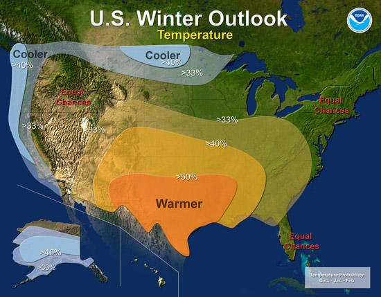Drought Conditions May Be Present Throughout Winter