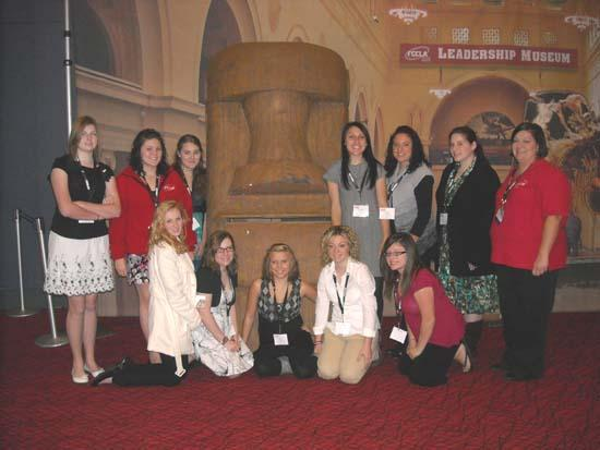 CCHS FCCLA Members Attend National Youth Leadership Training