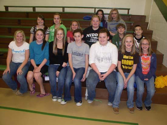 Short Mountain Junior Beta Club Donates To St. Jude's