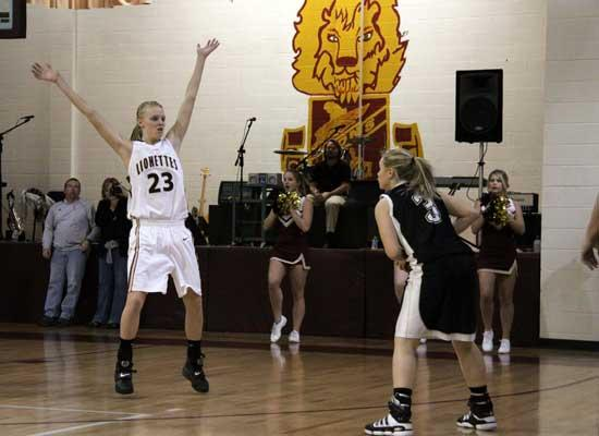 Lionettes Charge To Victory Over DeKalb County