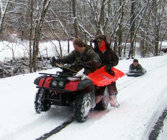 Winter Weather Brings Fun Times To Cannon County