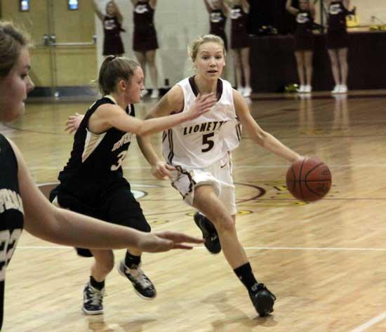 Upperman Girls 'Show Up' Lionettes, 56-44