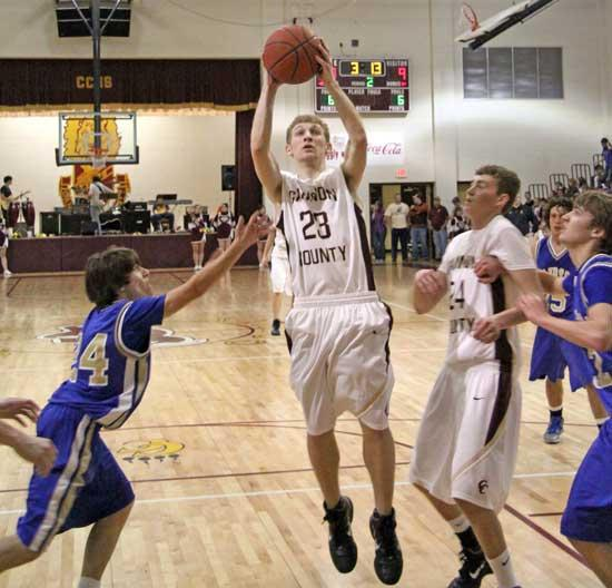 Lions Shut Down Bledsoe County, 60-40