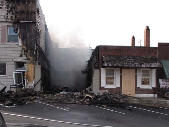 Fine Swine Fire Back Under Control