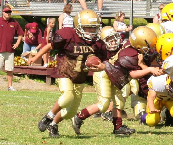Cannon County Youth Football Action