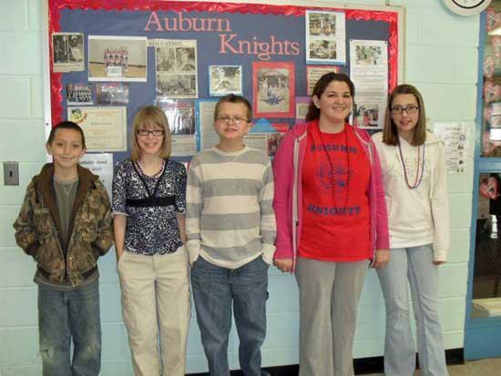Auburn School Spelling Bee Winners
