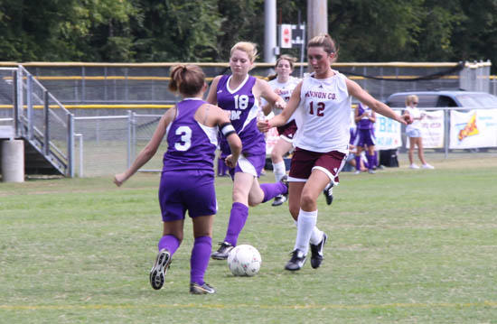 Soccer Action At CCHS